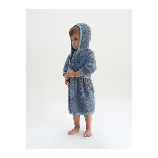 Bobo Choses - Towel bathrobe, blue