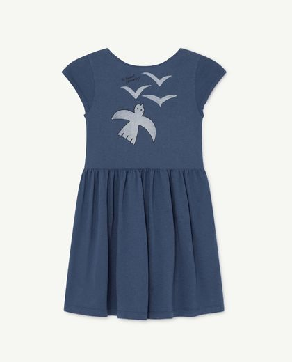 TAO - Butterfly kids dress, blue birds