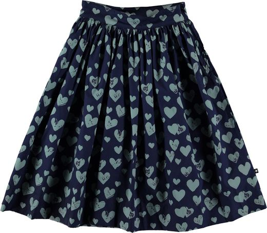 Molo Kids - Brittany skirt, blue love