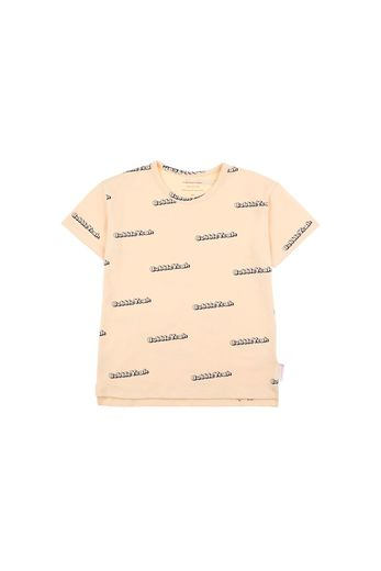 Tinycottons - BUBBLE YEAH' SS TEE  cream/navy
