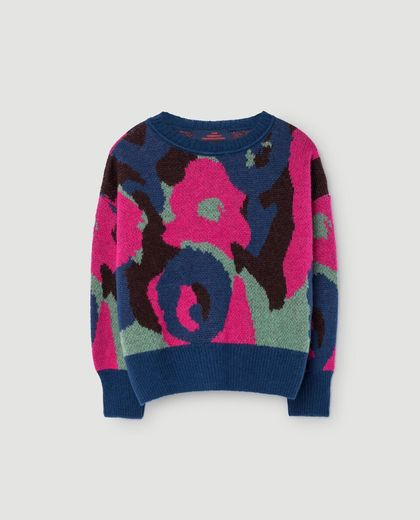 TAO - Bull kids sweater, electric blue