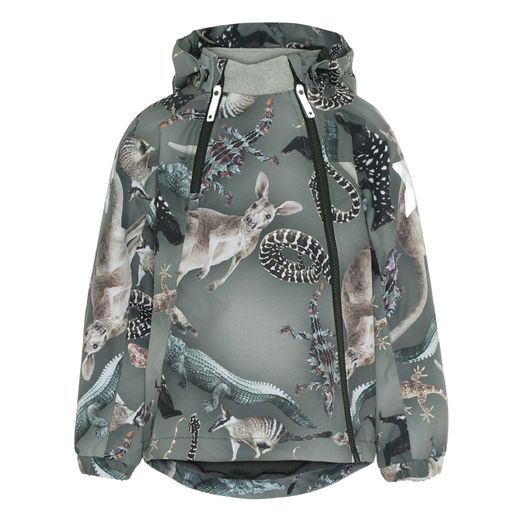 Molo kids - Hopla jacket, Camo bush animals