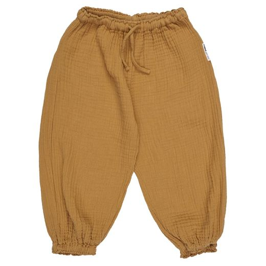 Maed for mini - Caramel Capybara Easy Pants