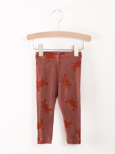 Bobo Choses - Baby leggins crab your hands, dusty