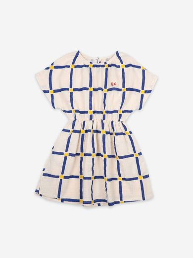 Bobo Choses - Cube All Over Woven Dress, 121AC106