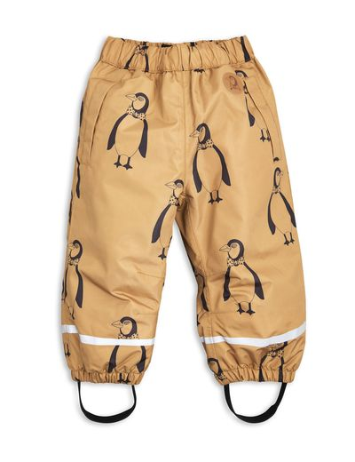 mini rodini - Edelweiss low trousers penguin, brown