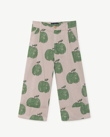 TAO - Elephant kids pants, beige apples