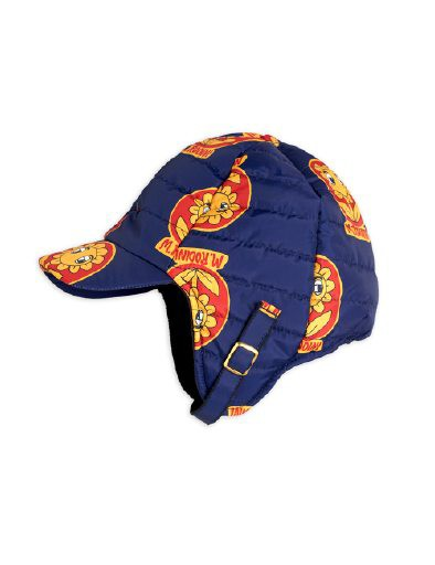 Mini Rodini - Insulator flower cap, Navy