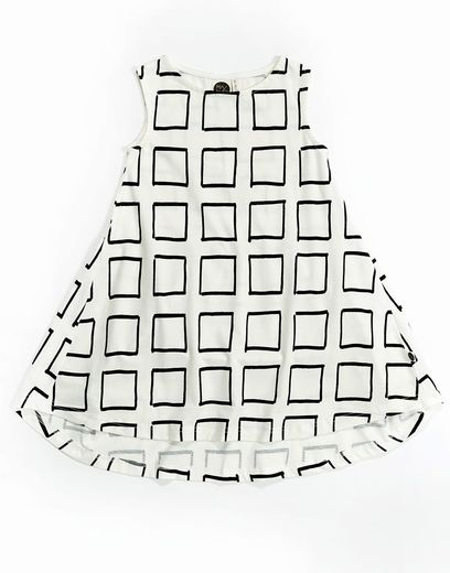 Mainio - Frames dress, white