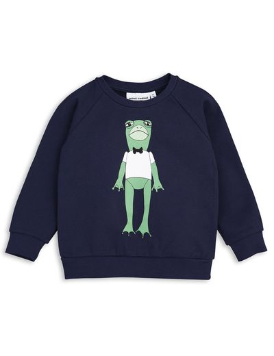mini rodini - Frog SP sweatshirt, navy