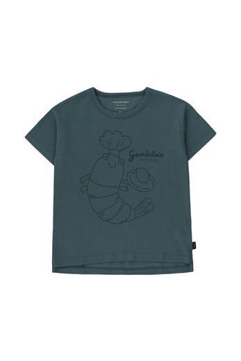 Tinycottons - Gambita chef tee, dark teal/ink blue