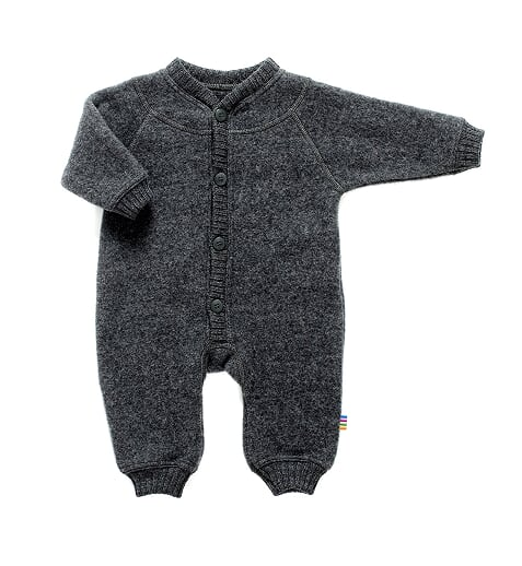 Joha - Heavy Wool jumpsuit, grey
