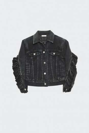 I dig denim - Kim denim jacket, Black