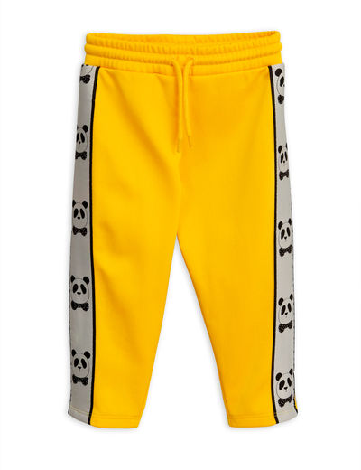 Mini Rodini - Panda wct pants, Yellow