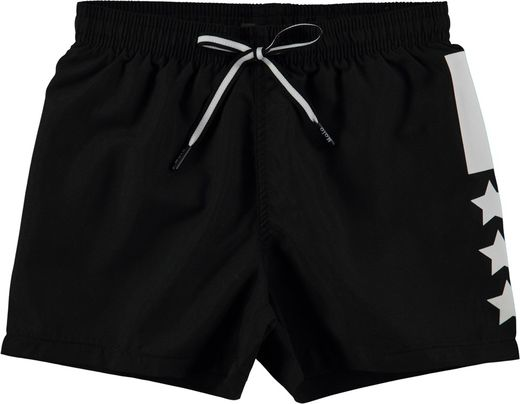 Molo kids - Niko Solid UV swim shorts, Black
