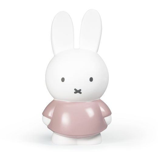 Miffy money box large, powder pink