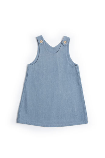 Monkind - Jeans Apron Dress