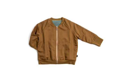Monkind - Sienna Bomber Jacket, Brown (MK34-SL)
