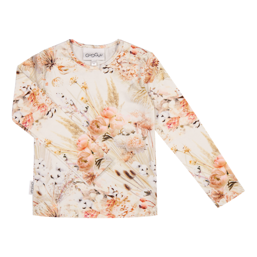 Gugguu - Print shirt,  natural flower