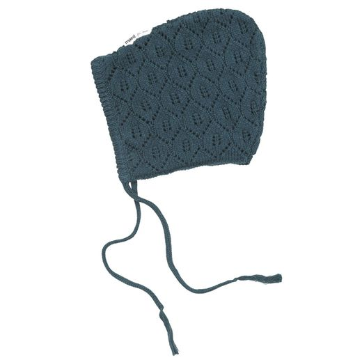 Maed for mini - Petrol Parrot Knit Hat