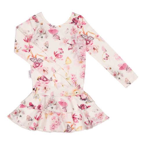Gugguu - Print frilla dress, Romance Butterfly