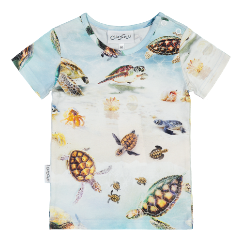 Gugguu - Print T-shirt, Turtles