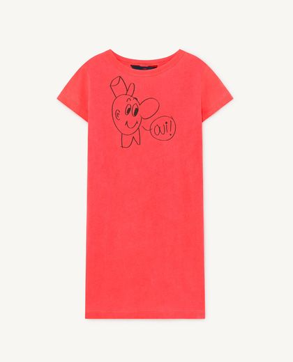 TAO - Gorilla kids dress, red oui  001137 006_PP