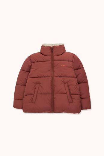 Tinycottons - SOLID PADDED JACKET dark brown