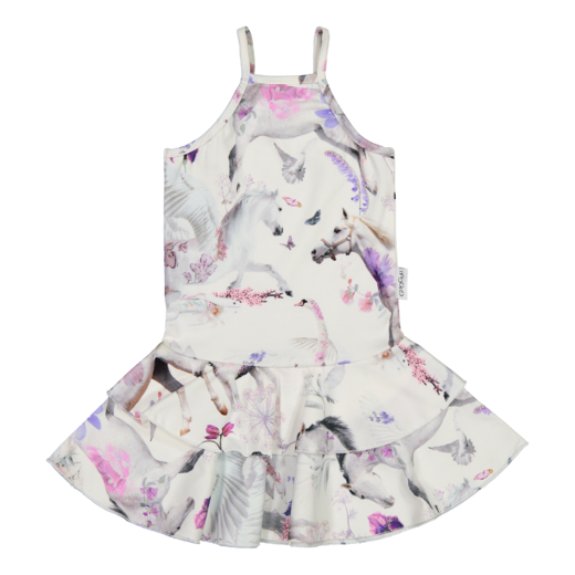 Gugguu - Print spaget dress, summer dream