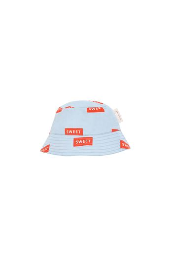 Tinycottons - 'SWEET' SUN HAT mild blue/red