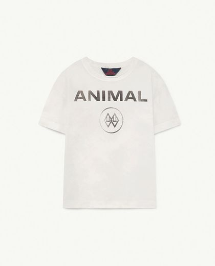 TAO -    ROOSTER KIDS T-SHIRT White Animal