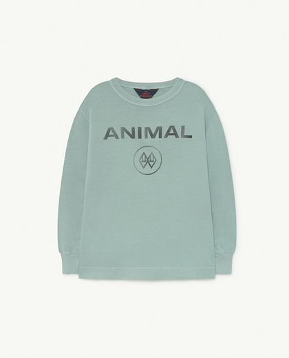 TAO -  DOG KIDS SWEATSHIRT Blue Animal