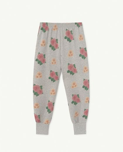 TAO - DROMEDARY GREY HEATHER KIDS TROUSERS Grey Flower