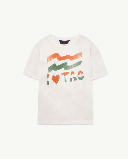 TAO -  ROOSTER KIDS T-SHIRT, White Flag 001286-108_