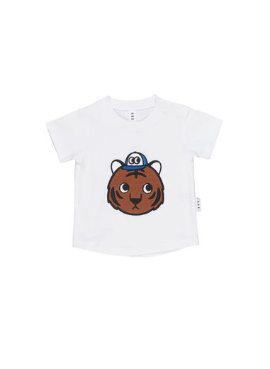 Huxbaby - Tiger T-Shirt, white