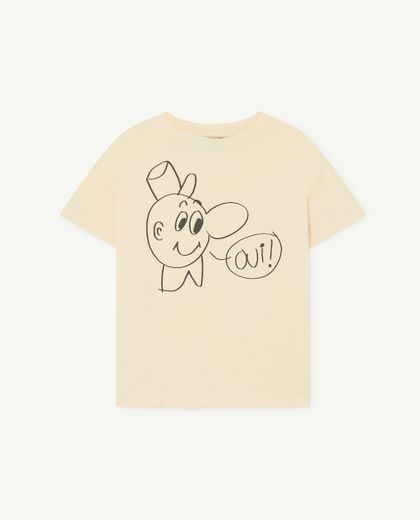 TAO - Rooster kids shirt, yellow oui 001125 081_PP