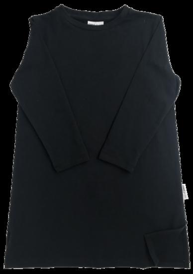 b8e55a628a38 Maed for mini - Black Bird T-Shirt Dress (ss2019-14) | Pikkuotus ...