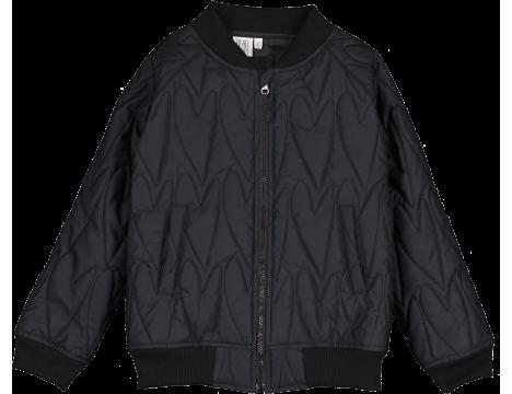 b1925573f Beau LOves - Heart bomber jacket, black